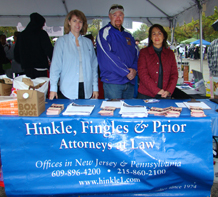 Donna Kosco, S. Paul Prior, Esq., and Maria Fischer, Esq. pictured at Autism Speaks event